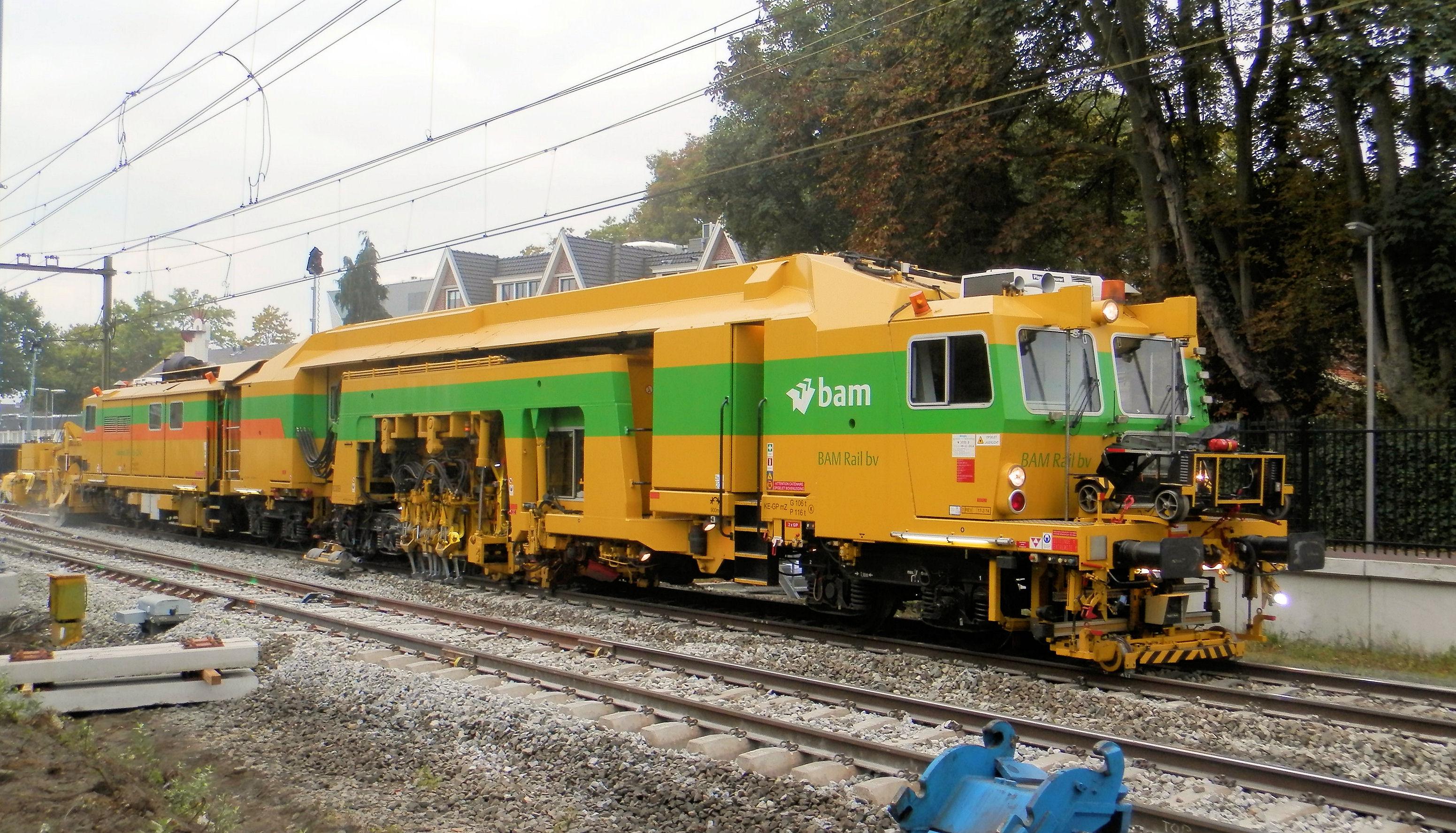 Optimalisatie werkprocessen bij BAM Rail
