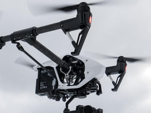 Gegevens inwinning met drones