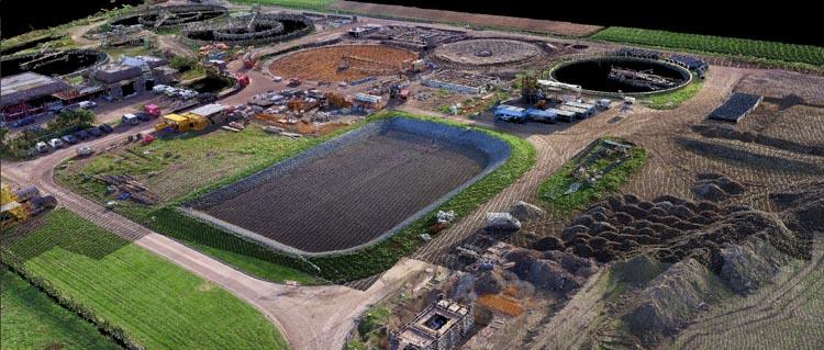 Monitoring renovatie RWZI Waterschap Rivierenland